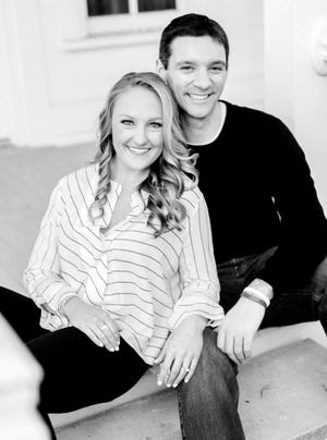 Ashley Kerr is a volunteer coach with OU women's gymnastics. Her husband, Mark Daigneault, is the head coach of the Oklahoma City Thunder. [PHOTO PROVIDED]