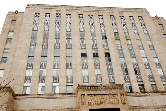 Exterior of the Oklahoma County Courthouse. [Photo by Doug Hoke/The Oklahoman]