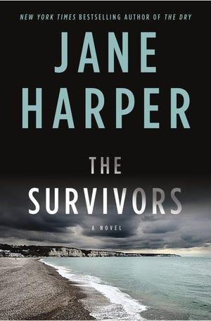 "\""The Survivors,\"" by Jane Harper, book jacket"