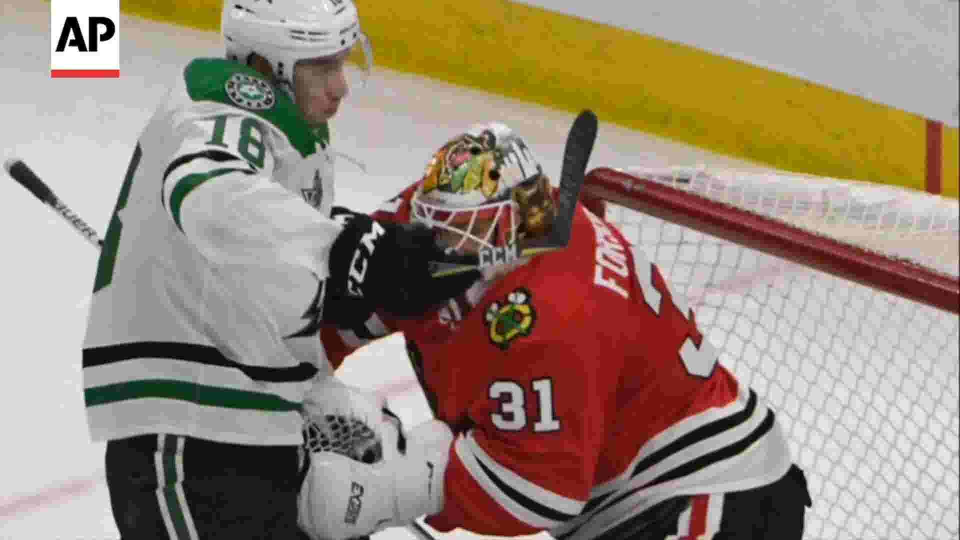 NHL goaltenders worry about increased concussions
