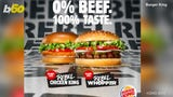Burger King is testing customers taste buds with new 50/50 menu in Sweden.