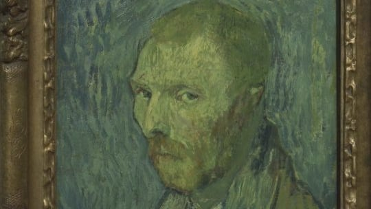 Vincent van Gogh's strange self-portrait is genuine, experts confirm