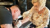 It's never too late in life to get a tattoo. Don't believe me? Allow me to introduce you to 94 year old Hilda West. Buzz60's Maria Mercedes Galuppo has more.