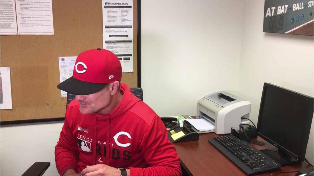 Cincinnati Reds manager David Bell after loss to Milwaukee Brewers