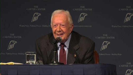 Trump says Jimmy Carter was 'referring to Biden' when he mentioned presidential age limits