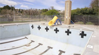 Brookside Pool officially opened in May 1959, but was closed in 2016. A new facility is being built to replace the popular attraction.