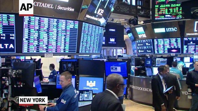 New York Stock Exchange trading floor
