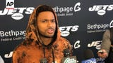 New York Jets safety Jamal Adams is appealing his fine from the NFL for roughing the passer against Cleveland and says officials apologized after the game for calling the penalty. (Sept. 19)
