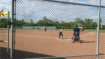 Newark Catholic beat Ridgedale 4-0 in a Division IV district semifinal softball game at Olentangy High School Wednesday night.