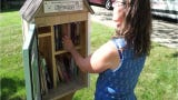 Nicole Mehelich talks about why her Little Free Library keeps getting completely emptied