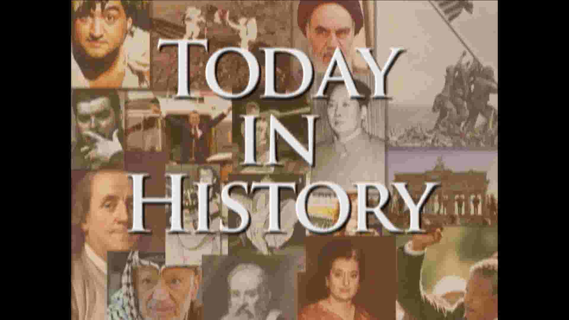 Today in History for February 16th thumbnail