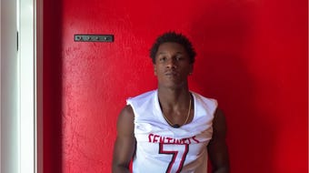 The running back, who transferred from Bishop Verot to ECS before his senior season, came in at No. 11 on our list of the area's top college football recruits.