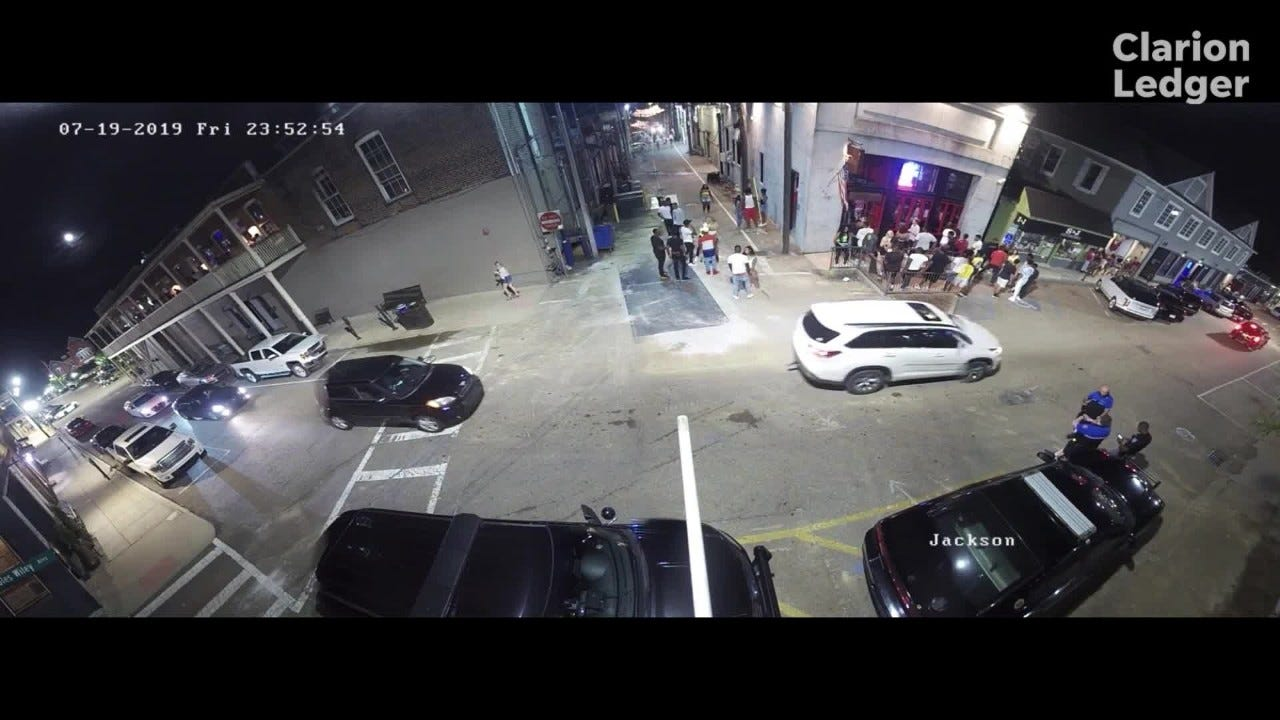Security video shows Ole Miss student Ally Kostial in Oxford Square before  her death