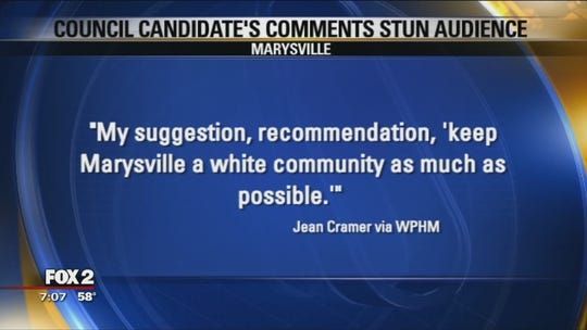 Keep city as white 'as much as possible,' council candidate says, stunning forum in Michigan