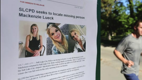 Police release last known photos of missing college student Mackenzie Lueck in plea for information