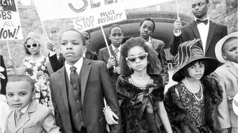 Ondie James, of Majesty 6:33 Productions, collaborates with photographer Myles Pinkney in an educational project that brings Black History to life.