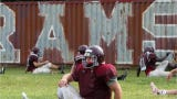 GMC and Mid-State Conference football Camp Caravan tour of preseason scrimmages and practices