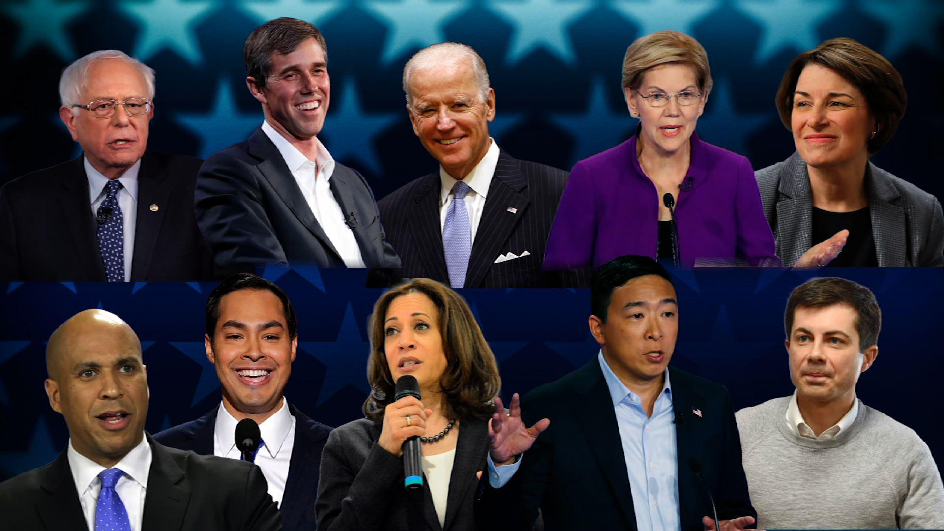 Image result for top 10 debate candidates