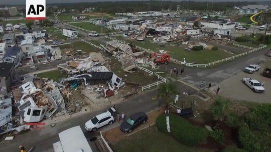Webcams follow Hurricane Dorian as it batters the beaches along the NC coast