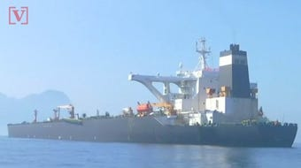 The U.S. has unsealed a warrant to seize an Iranian oil tanker detained in Gibraltar.