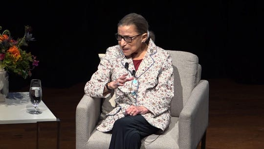 Justice Ruth Bader Ginsburg says she's 'cancer-free'