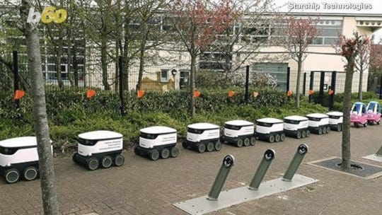 'A burger, a coffee, whatever': Food-delivery robots may soon roll up to Purdue's campus