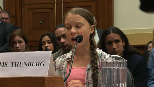 'I want you to take action': Greta Thunberg, teenage climate activist, testifies before Congress