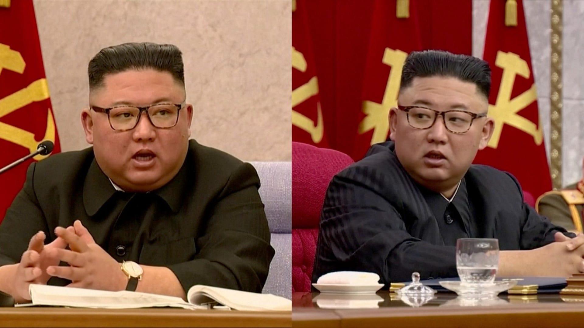 North Korea admits Kim Jong Un looks 'emaciated'