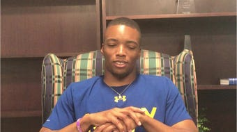 Dre Williamson grew up in East Jackson and just graduated from the Naval Academy. Hear about the experience of playing football at Navy here.