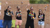 Jorge Garcia of the Borderland Rainbow Center prepares for the Sun City Pride Parade June 15. He reflects on the history of the parade and LGBT rights