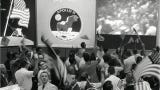 Check out these scenes from the Apollo 11 splashdown and the celebrations that followed.