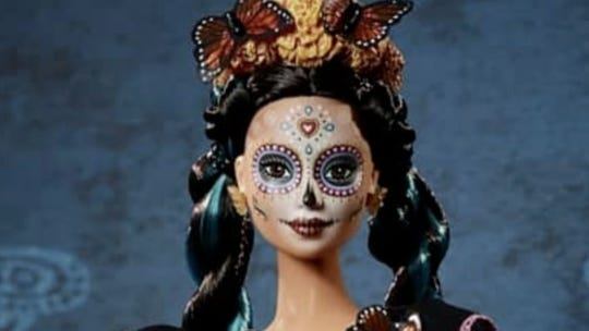 Barbie officially launches a Day of the Dead doll, and she is glorious