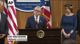 Ohio Gov. Mike DeWine has ordered a review of the state medical board's handling of complaints against a now-dead Ohio State team doctor who investigators say sexually abused at least 177 students decades ago. (May 20)
