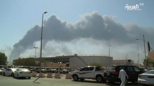 Saudi oil attack roils global energy markets; Trump says U.S. 'locked and loaded'
