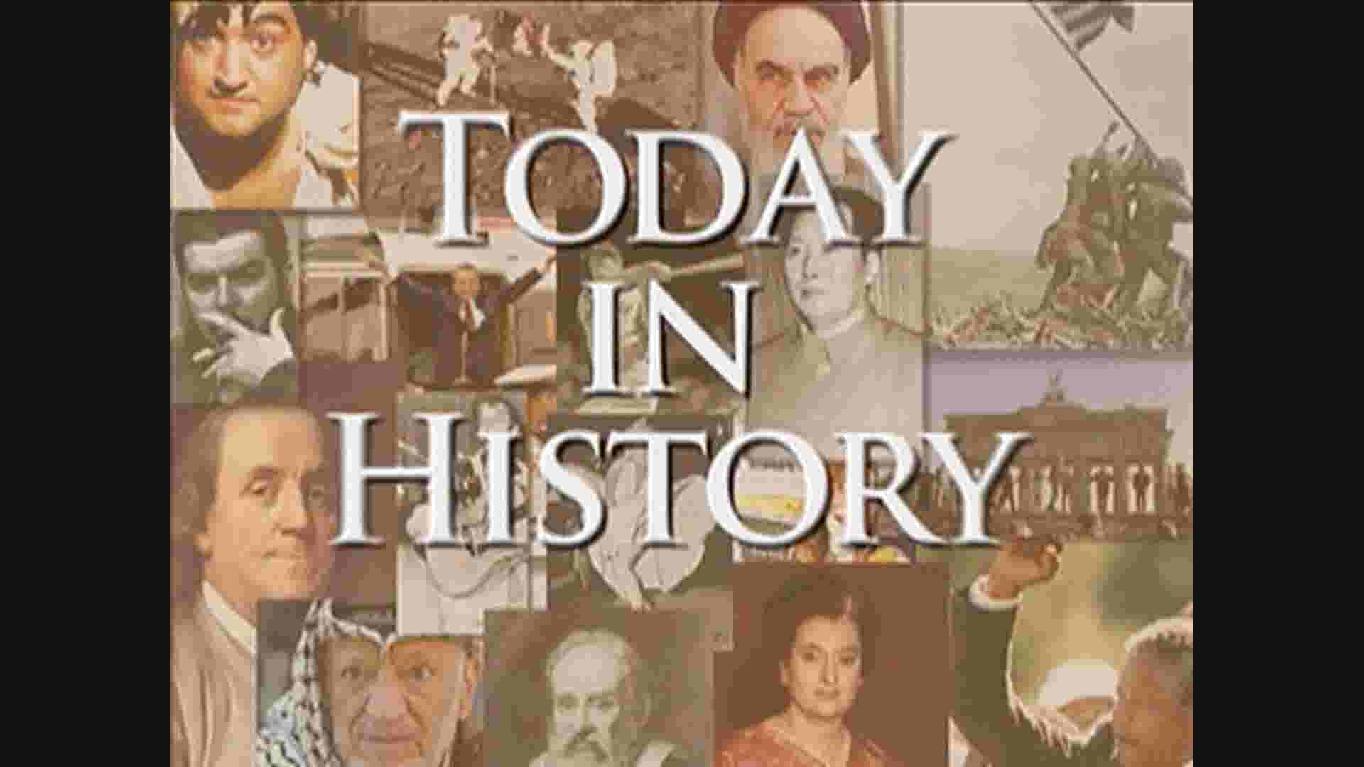 Today in History for January 25th thumbnail