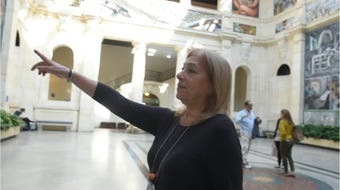 Barbara Heller talks about restoring some of the DIA's works of art