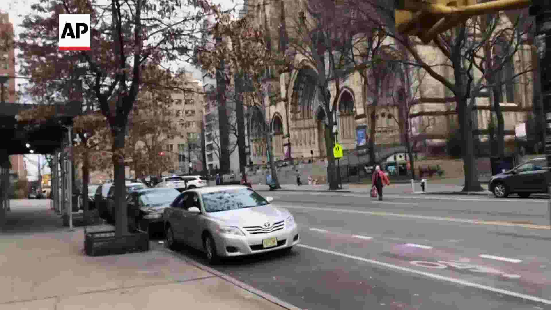 USA News Today - Police fatally shoot gunman at NYC Christmas concert | NewsBurrow thumbnail