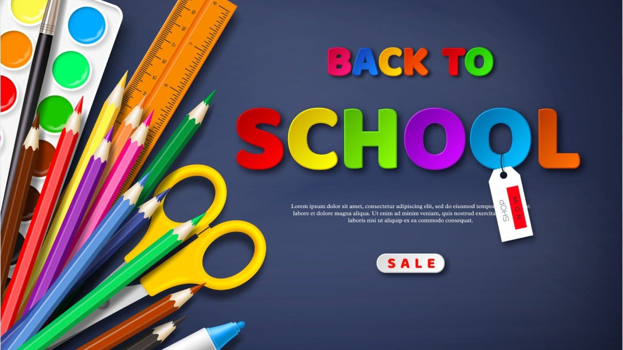 Back-to-school Tax-free Weekend: What Qualifies and what doesn't?