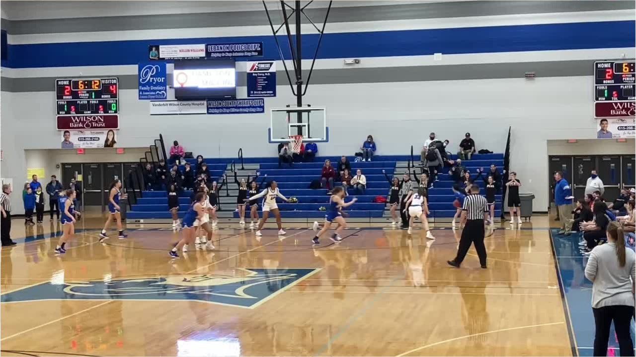 TSSAA Girls Basketball Highlights: Lebanon 53, Wilson Central 46