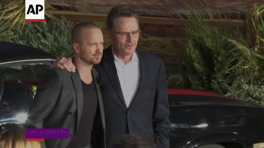 Aaron Paul improvised Jesse's iconic 'Breaking Bad' line in movie sequel 'El Camino'