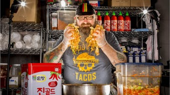 Sam Auen opened his Tacopocalypse and Krunkwich restaurants to fanfare. Now, his restaurants are closed and he owes thousands in taxes.