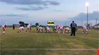Wall-Sonora football highlights