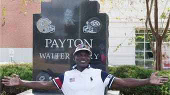 Eddie Payton remembers his brother Walter as the 20th anniversary of his death nears.