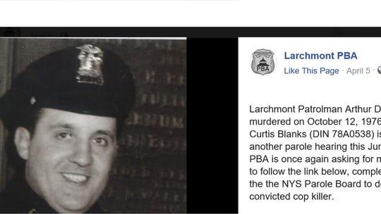 Larchmont Cop S Killer Seeks Parole