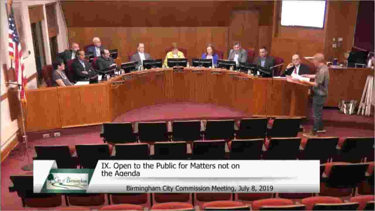 Video reveals fiery exchange at Birmingham city commission meeting