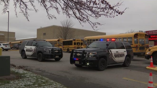 Gunshots exchanged at Wisconsin school