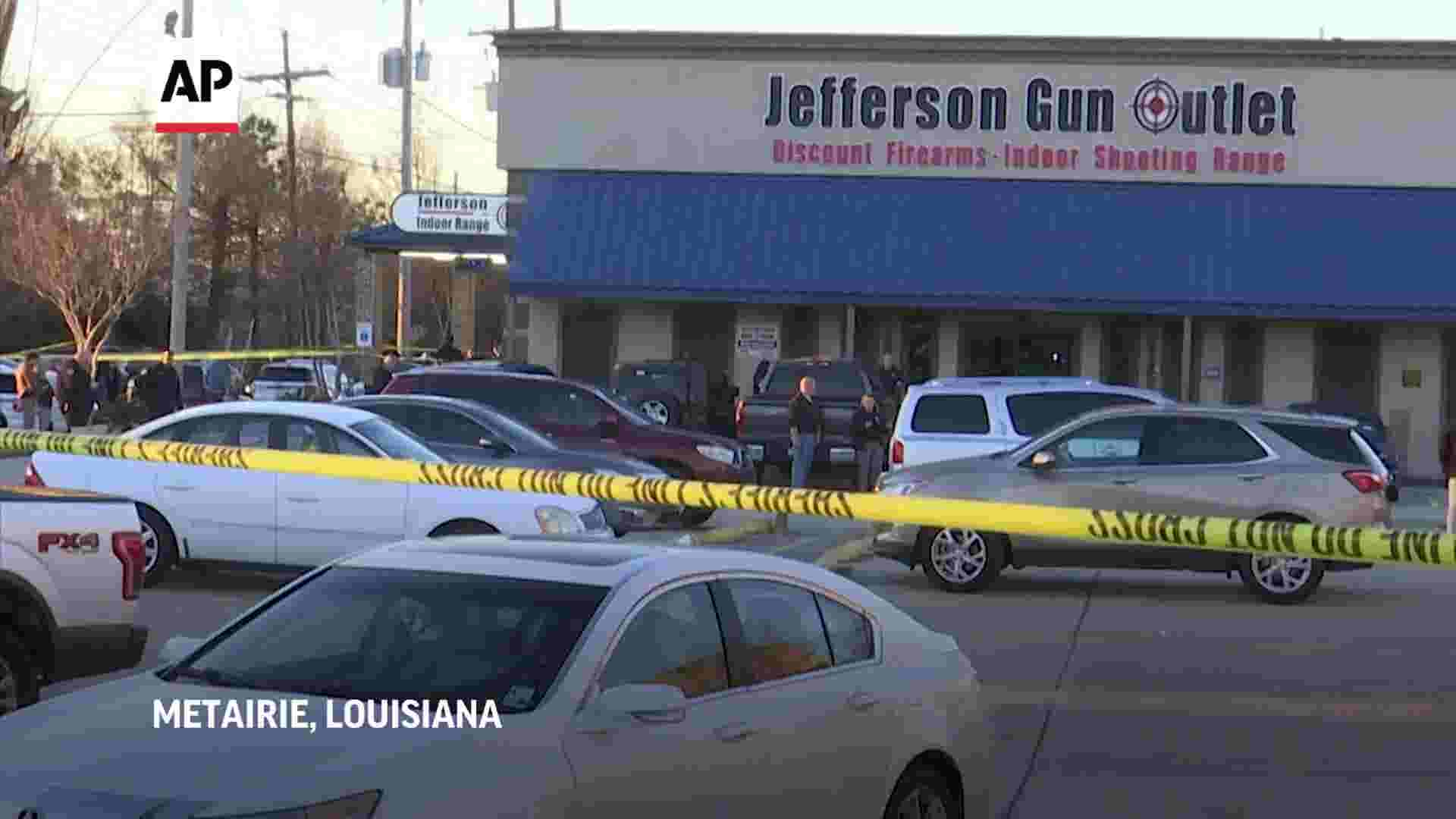 Three killed after shooting at Louisiana gun shop thumbnail