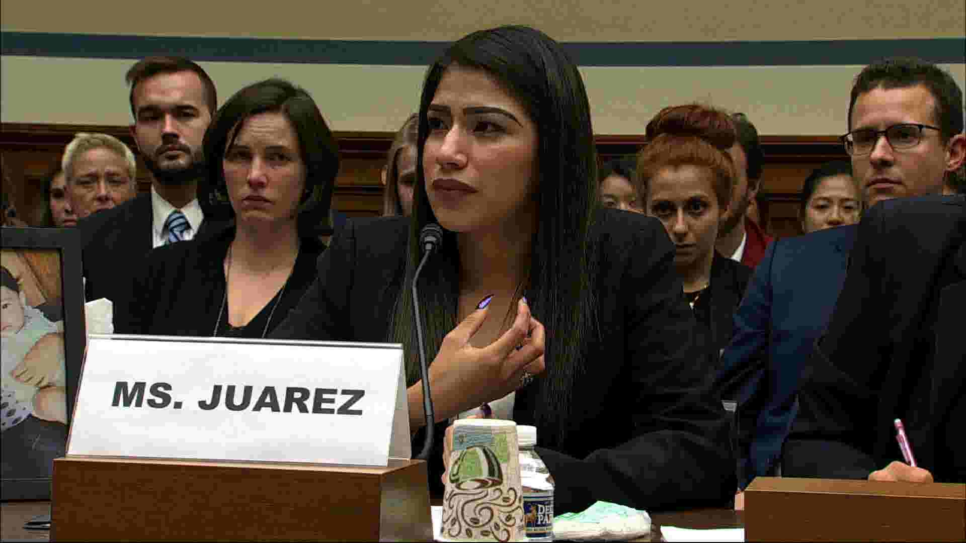 Asylum seeker testifies about daughter's death