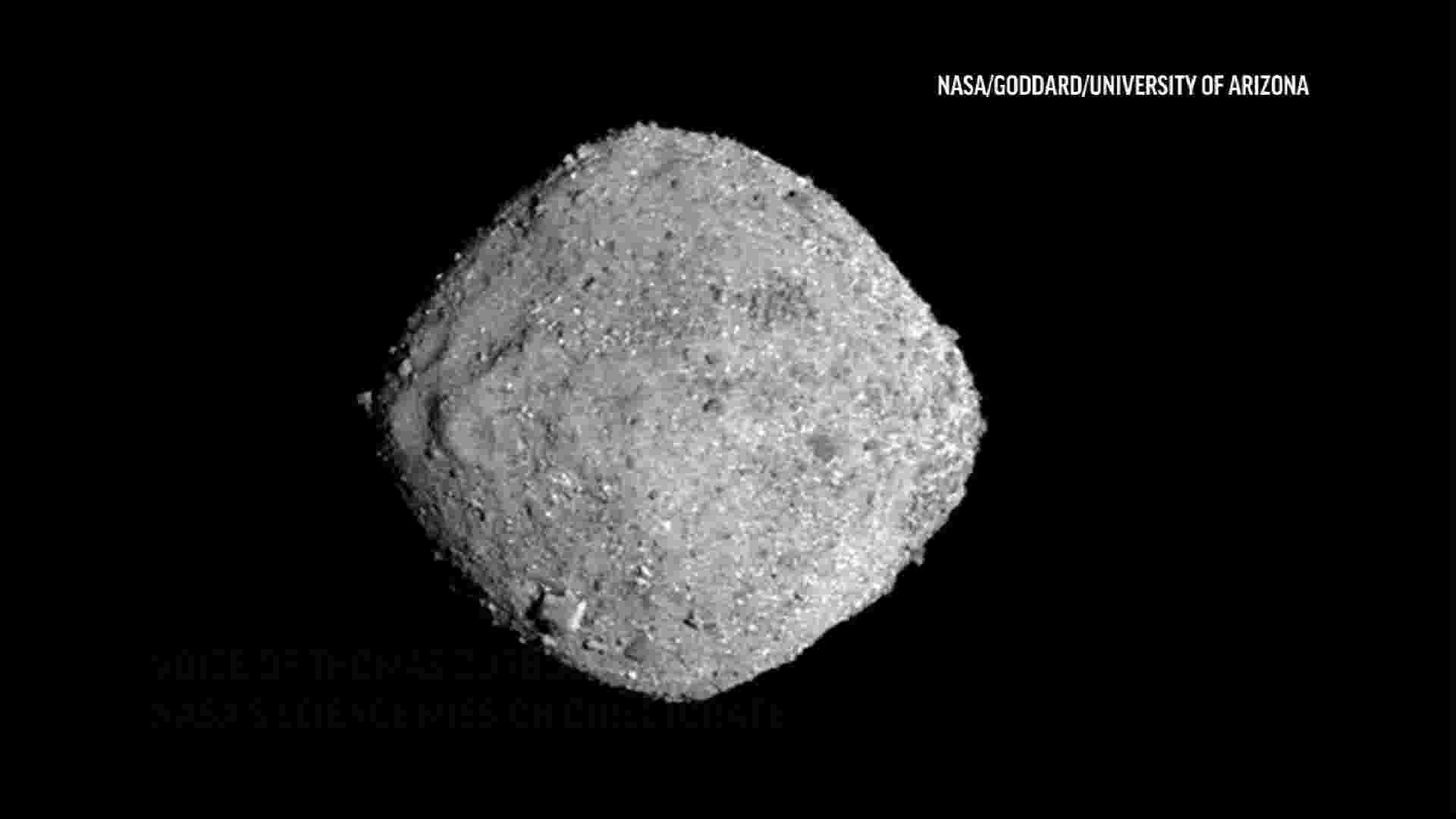 NASA prepares to touchdown on asteroid Bennu
