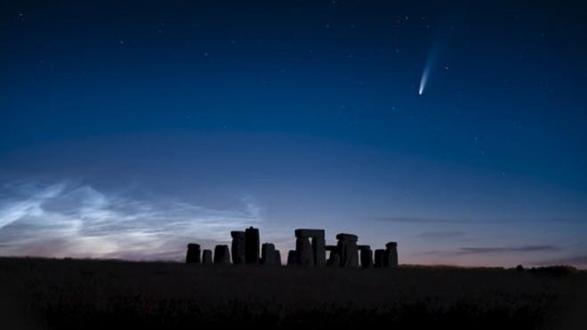 Neowise Meteor Showers And Other Comet Tales